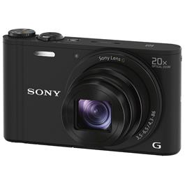 Sony compact camera Cybershot DSC-WX350 (zwart)