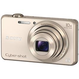 Sony compact camera Cybershot DSC WX220 goud