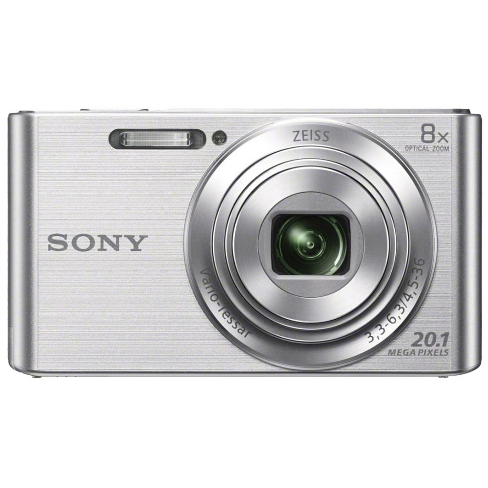 Sony compact camera DSCW830 zilver