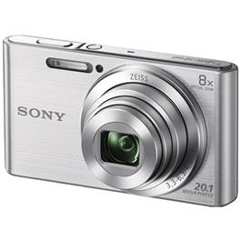 Sony compact camera DSCW830 zilver