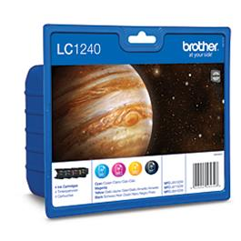 Brother cartridge voordeelpak LC1240VALB BK 3CL