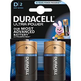 Duracell Batterijen Ultra Power D Duralock LR20 2 Stuks