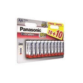 Panasonic AAA batterijen 20 stuks