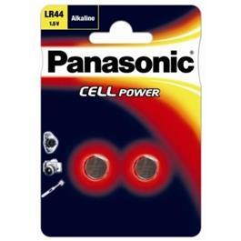 Panasonic knoopcel batterij LR44EL 2B 2 stuks