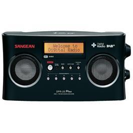Sangean DAB+ radio DPR 25+ zwart