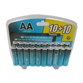 Temium batterij LR0610+10 (20 stuks)