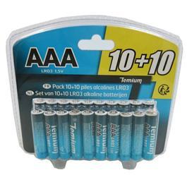 Temium batterij LR310+10 (20 stuks)