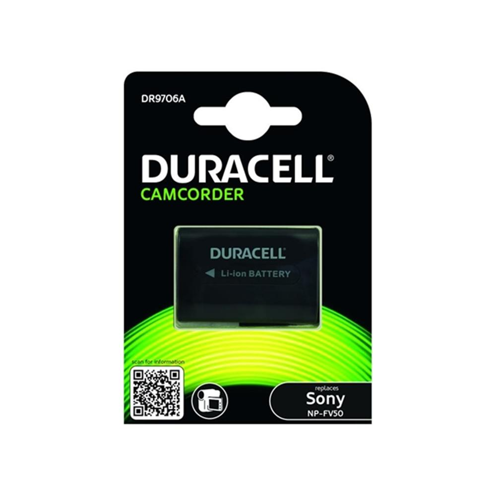Duracell Sony NP-FV50/NP-FV100 accu