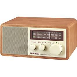 Sangean radio WR-11 WALNUT
