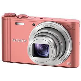 Sony compact camera Cybershot DSC WX350 roze