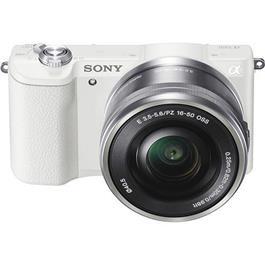 Sony systeemcamera a5100 16 50mm wit