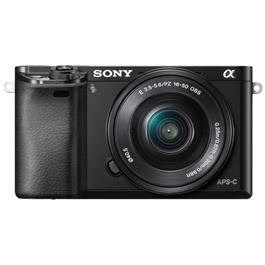 Sony systeemcamera a6000 16 50mm zwart