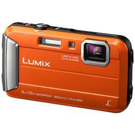 Panasonic compact camera Lumix DMC FT30 Oranje
