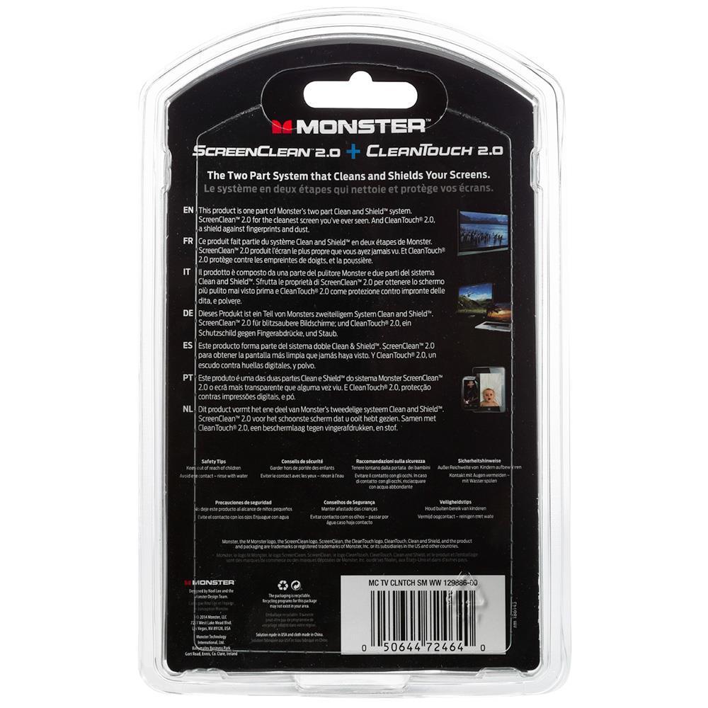 Monster schermreiniger Clean + Touch (2 x 180 ml)