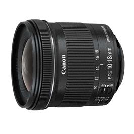 Canon objectief EFS10 18mm F 4.5 5.6 IS STM