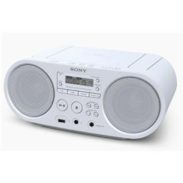 Sony radio/CD speler ZSPS50 (wit)