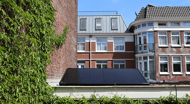 Supersola paneel op dak