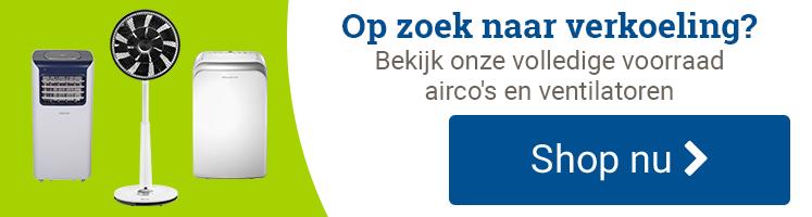 Airco's en ventilatoren