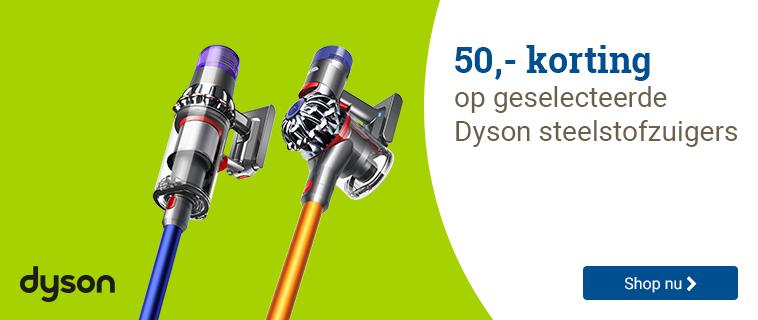 Dyson 50,- korting!