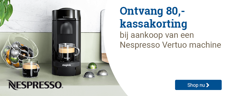 Nespresso Kassakorting