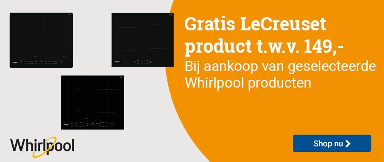 Whirlpool Gratis LeCreuset product